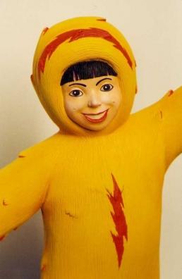 Eskimonika stop-motion puppet finished