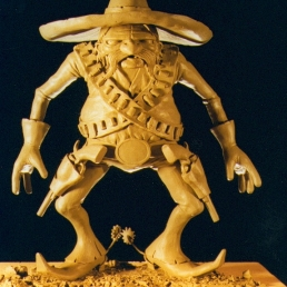 Maquette for stop-motion animation short film that never got made