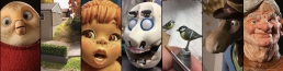 A small selection of some of the work In my 23 years experience as a sculptor and puppet maker