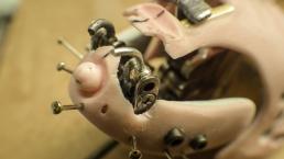 WIP head mechanics close up