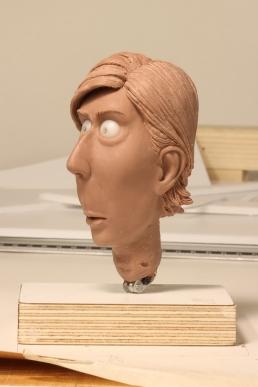 Wip on the head sculpt