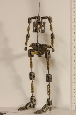 Widow stop-motion puppet armature