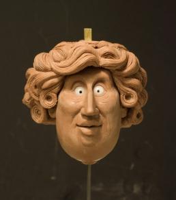 Widow head sculpt wip 1