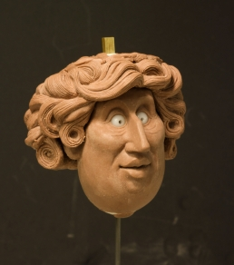 Widow head sculpt wip 2